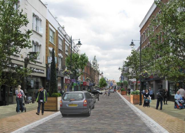 What Putney High Street could look like.