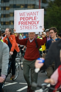 We want people-friendly streets
