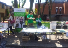 Wandsworth Living Streets stall at BATCA Fun Day, Tooting, 8 June 2013
