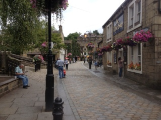 Pedestrianisation of the street: Hebden Bridge